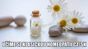 učíme se klasickou homeopatii CZ/SK