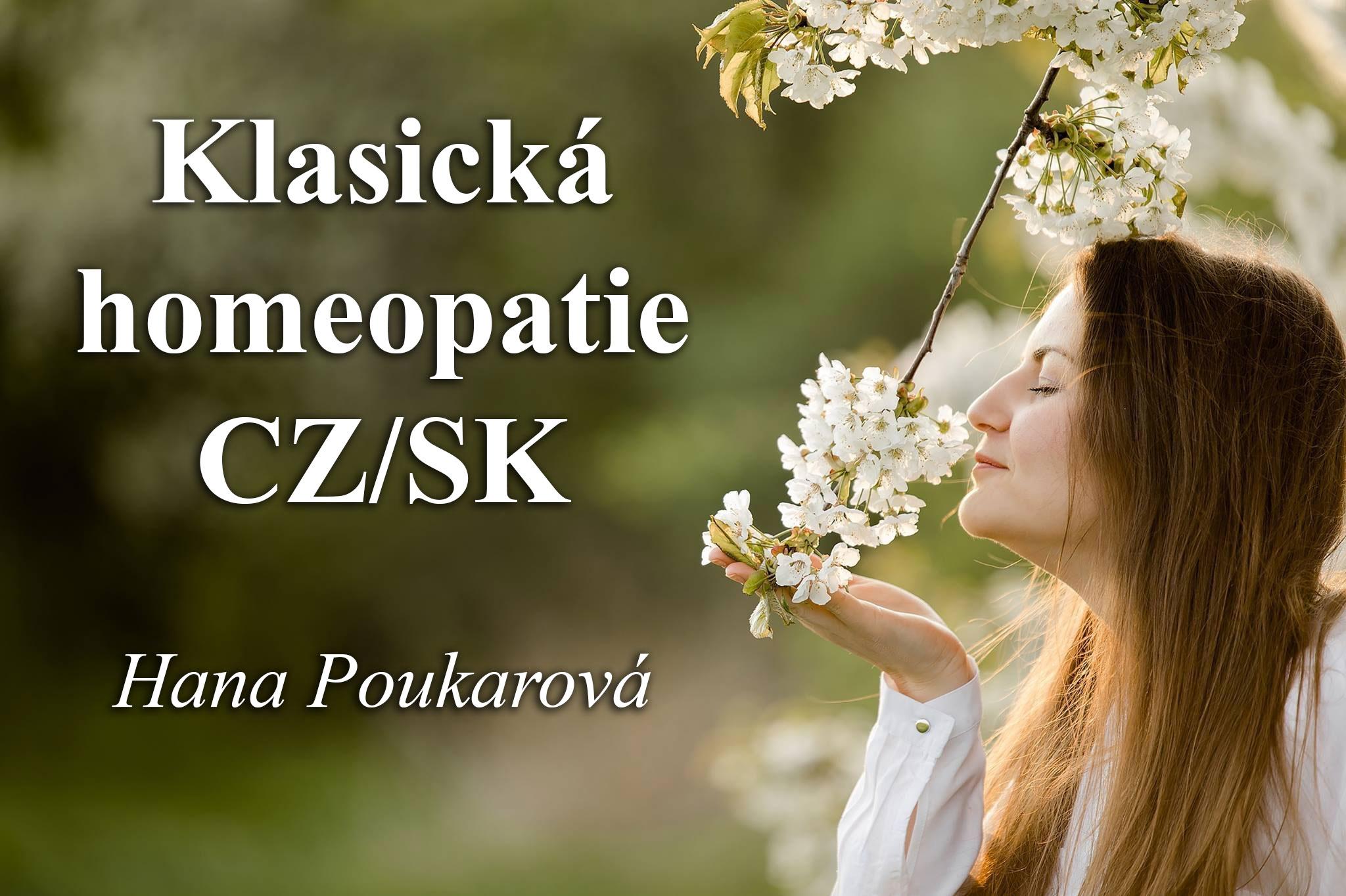 Klasická homeopatie CZ/SK - Hana Poukarová